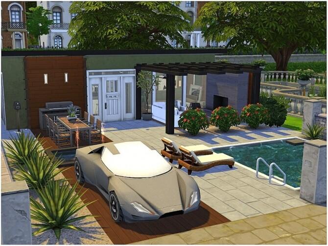 Sims 4 Formal House by lotsbymanal at TSR