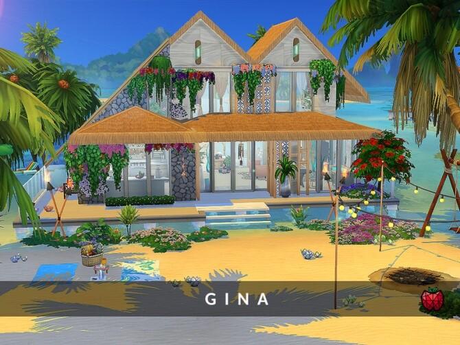 Gina house noCC by melapples at TSR image Gina house noCC by melapples 670x503 Sims 4 Updates