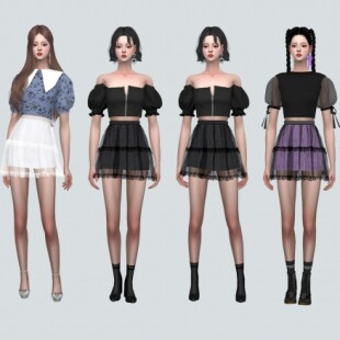Lace-Tiered-Sha-Mini-Skirt-by-Marigold-5