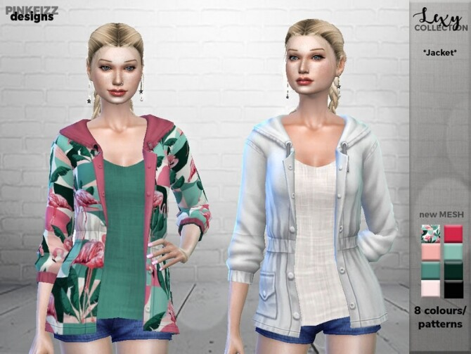 Lexy Jacket PF93 by Pinkfizzzzz at TSR image Lexy Jacket PF93 by Pinkfizzzzz 670x503 Sims 4 Updates