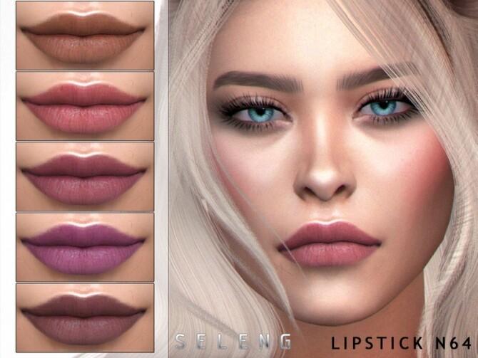 Sims 4 Lipstick N64 by Seleng at TSR
