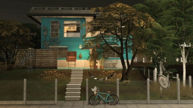 Sims 4 Louise home at SoulSisterSims