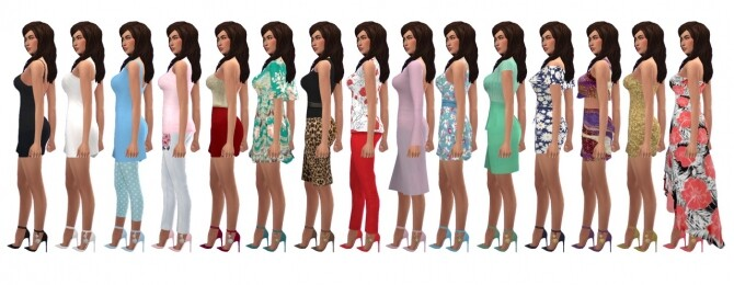Sims 4 MADLEN'S PROCIDA SHOES at Sims4Sue