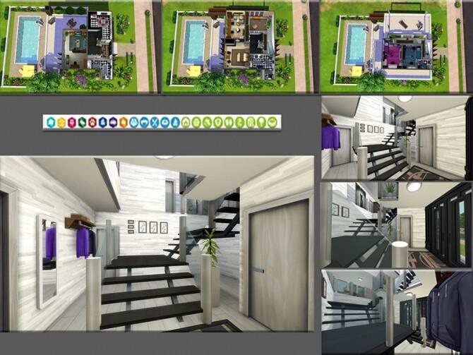 Sims 4 MB Modern Trimming house by matomibotaki at TSR