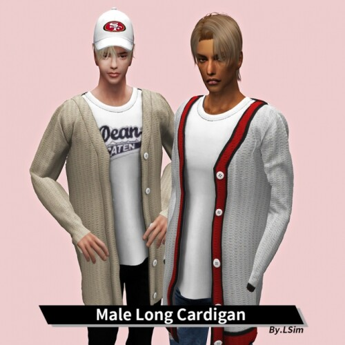 Male-Long-Cardigan