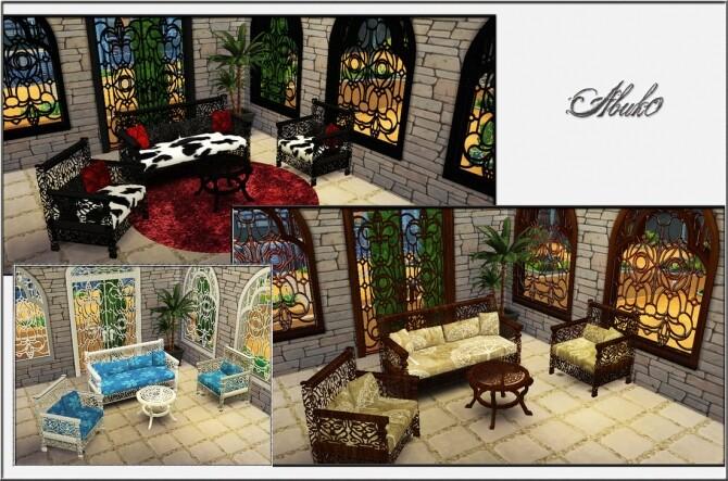 Sims 4 Malolo set at Abuk0 Sims4