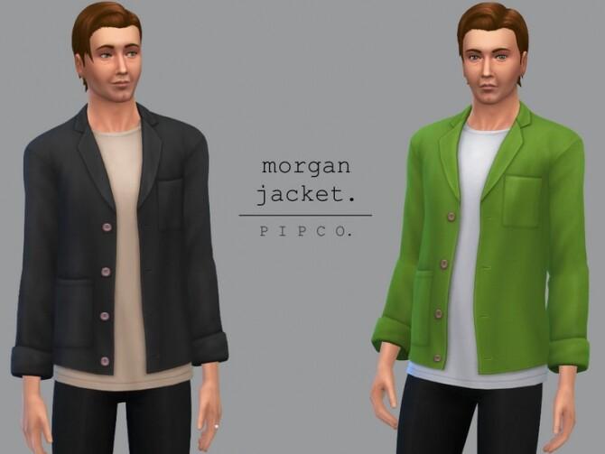Sims 4 Morgan jacket by Pipco at TSR