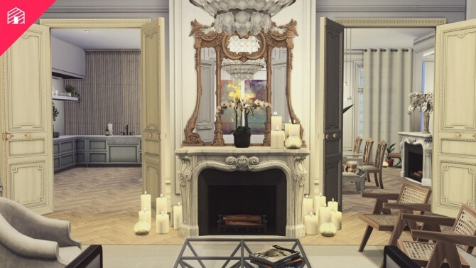 Sims 4 My Dream Apartment at Harrie