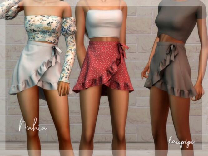 Nahia-ruffle-skirt