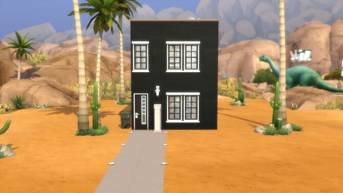 Sims 4 Pebble Burrow home by EtherealToxic at Mod The Sims