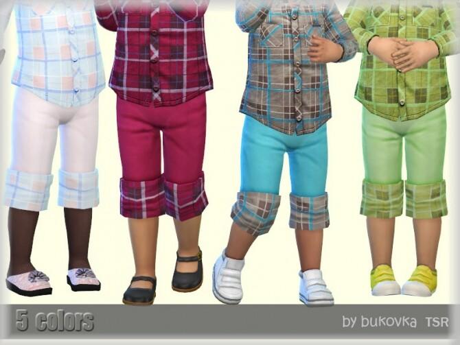 Plaid Shorts by bukovka at TSR image Plaid Shorts by bukovka 670x503 Sims 4 Updates