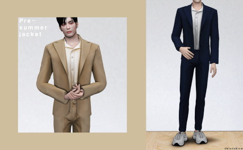 Pre summer set at Kiro image Pre summer male clothes set by Kiro 3 Sims 4 Updates