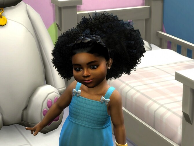 Puffy Curls Afro Toddler by drteekaycee at TSR image Puffy Curls Afro Toddler by drteekaycee 2 670x503 Sims 4 Updates