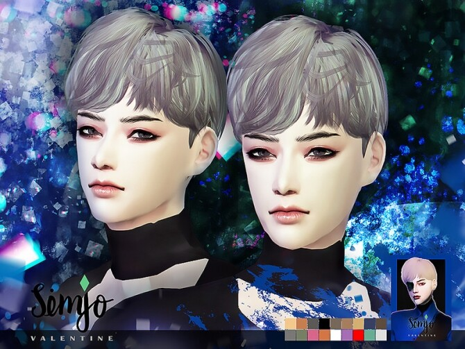 Sims 4 S1 Valentine male hair by KIMSimjo at TSR