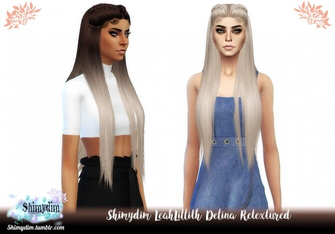 S4-LeahLillith-Delina-Hair-Retexture