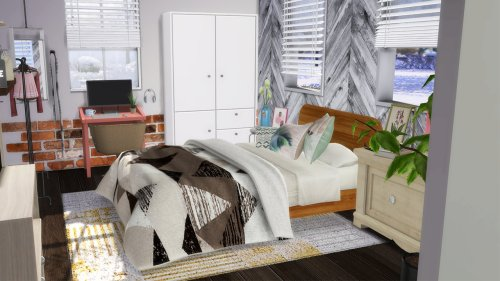 SINGLE MOM WITH HER TODDLER BEDROOM at Celinaccsims image SINGLE MOM WITH HER TODDLER BEDROOM 2 Sims 4 Updates