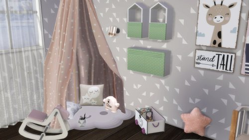 SINGLE MOM WITH HER TODDLER BEDROOM at Celinaccsims image SINGLE MOM WITH HER TODDLER BEDROOM 3 Sims 4 Updates