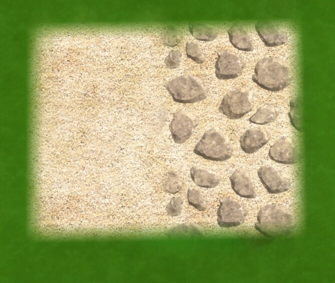 Sand and Stone at 27Sonia27 image Sand and Stone terrain by 27Sonia27 img3 670x566 Sims 4 Updates