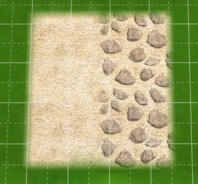 Sand and Stone at 27Sonia27 image Sand and Stone terrain by 27Sonia27 img4 670x621 Sims 4 Updates