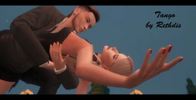 Tango poses at Rethdis love image Tango poses by Rethdis 1 670x343 Sims 4 Updates