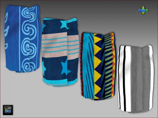 Towel wraps for men and boys by Mabra at Arte Della Vita image Towel wraps for men and boys by Mabra 3 670x503 Sims 4 Updates