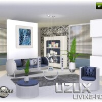 Uzux-living-room-blue-by-jomsims