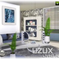 Uzux-living-room-white-by-jomsims