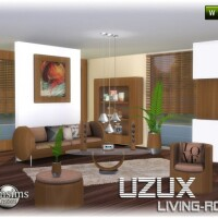 Uzux-living-room-wood-by-jomsims