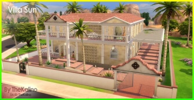 Sims 4 Villa Sun at Kalino