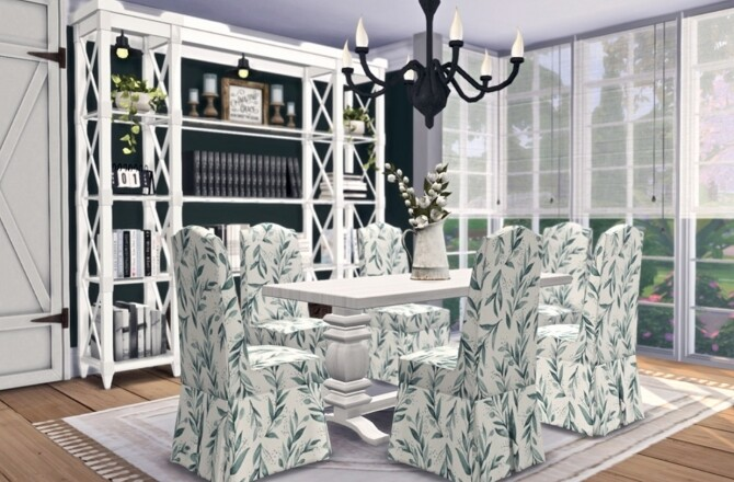 Vintage Farmhouse Dining by Sooky image Vintage Farmhouse Dining by Sooky 2 670x440 Sims 4 Updates