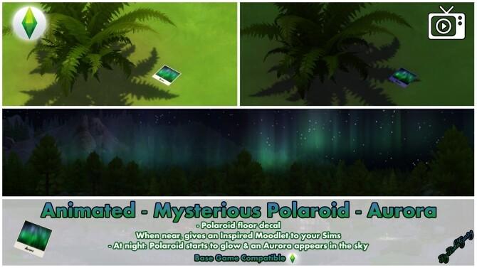 Animated Mysterious Polaroid Aurora by Bakie