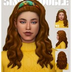 DARLENE hair by simstrouble