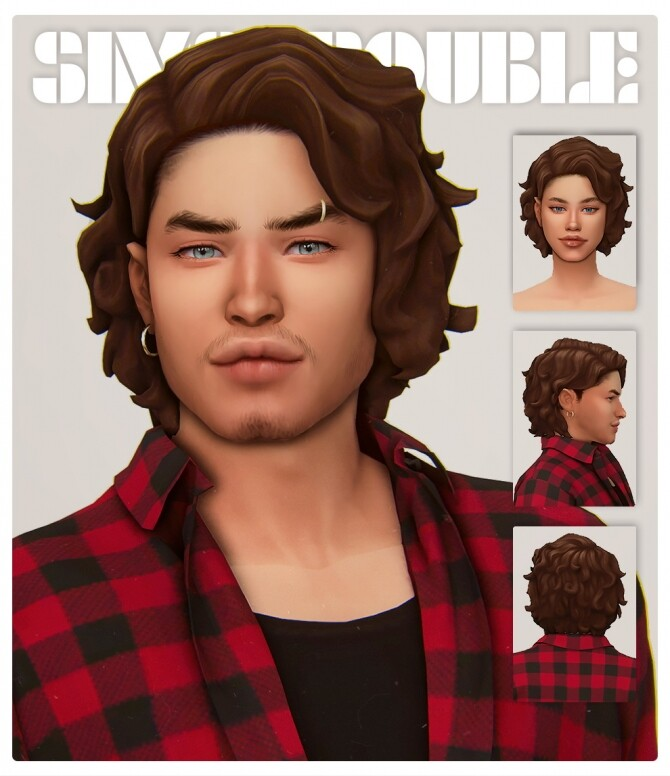 JAZZ RIFF hair at SimsTrouble image 10220 670x776 Sims 4 Updates