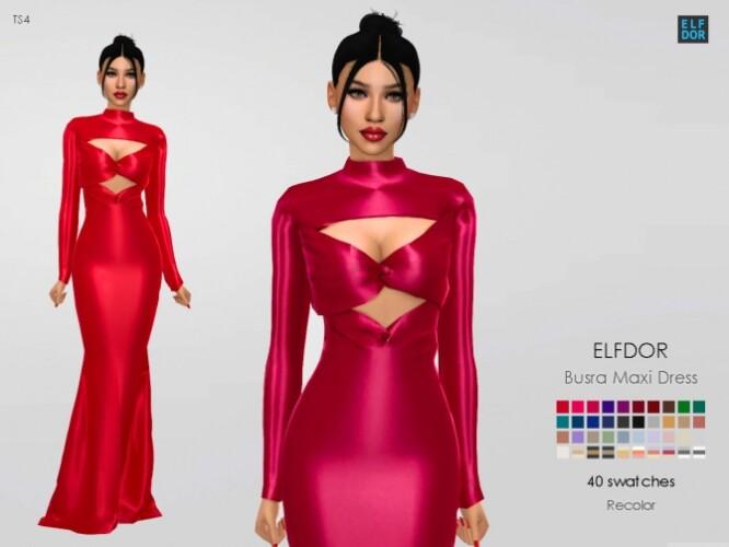 Busra-tr Maxi Dress RC