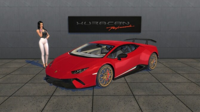 Lamborghini Huracan Performante at LorySims image 10226 670x377 Sims 4 Updates