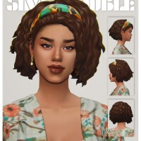 HILARY hair by simstrouble