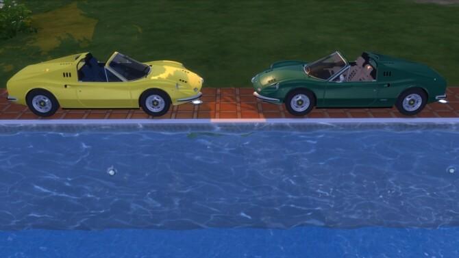 Sims 4 Dino 246 GT at LorySims