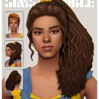 STEPHANY hair by simstrouble