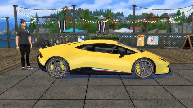 Sims 4 Lamborghini Huracan Performante at LorySims