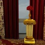 Roman Golden Pedestal