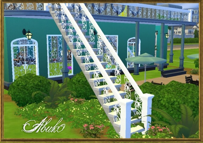 Baserria Iron: Railing, Fence and Gate at Abuk0 Sims4 image 10620 670x474 Sims 4 Updates