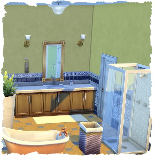 Sims 4 Yellow Rose Villa by Chalipo at All 4 Sims