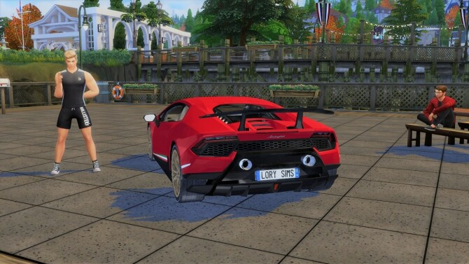 Lamborghini Huracan Performante at LorySims image 10722 670x377 Sims 4 Updates