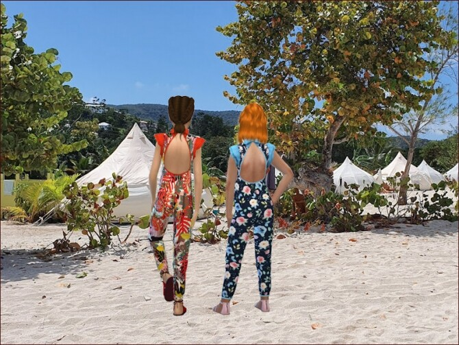 Jumpsuits for girls by Mabra at Arte Della Vita image 1075 670x503 Sims 4 Updates