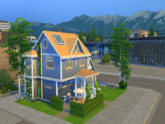 Sims 4 Humble Abode by LJaneP6 at TSR