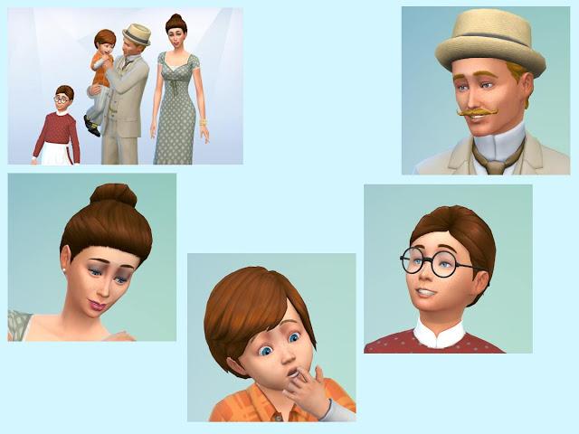 Sims 4 Skredder Amundsen family at KyriaT's Sims 4 World