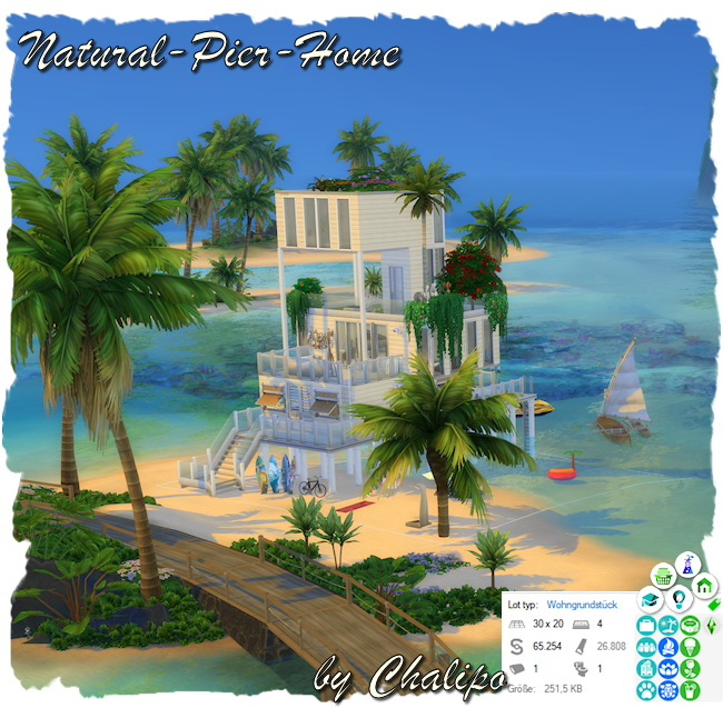 Natural pier home by Chalipo at All 4 Sims image 1089 Sims 4 Updates
