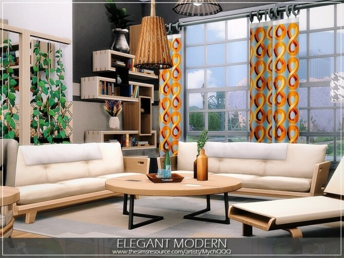 Elegant Modern House by MychQQQ at TSR image 10912 670x503 Sims 4 Updates