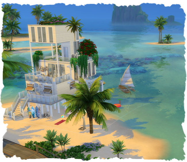 Natural pier home by Chalipo at All 4 Sims image 1099 Sims 4 Updates
