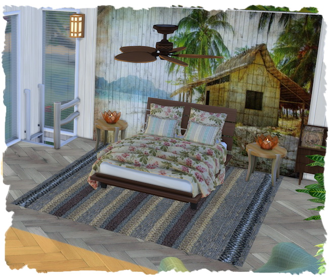 Sims 4 Natural pier home by Chalipo at All 4 Sims